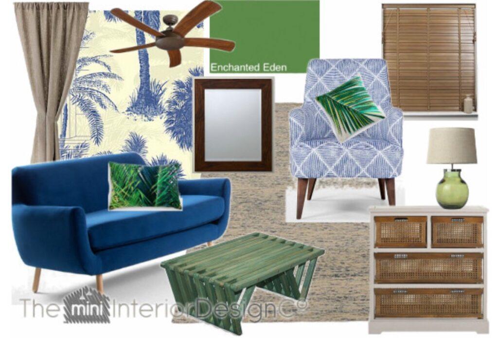 living room ideas tropical