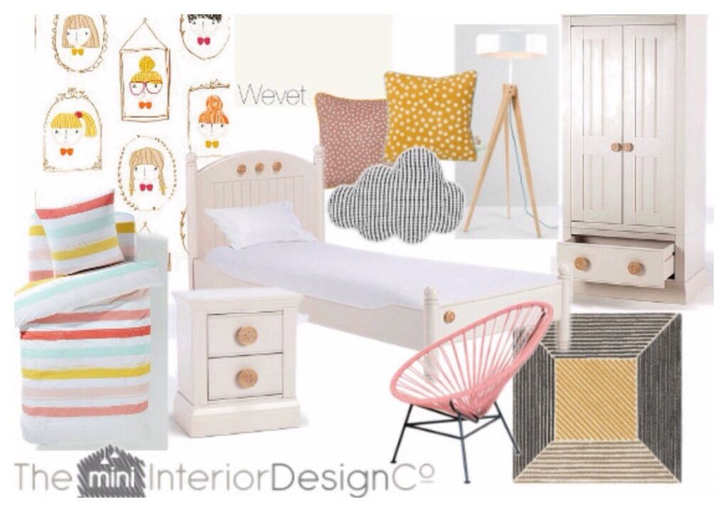 Pretty Pastel Kids Room Design