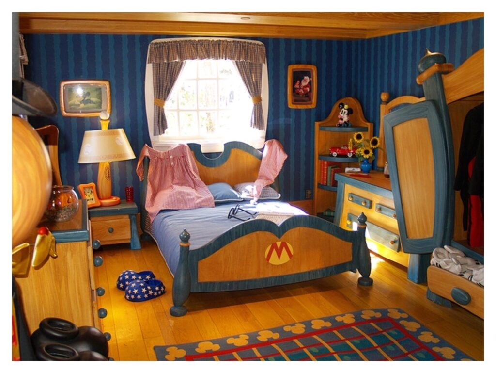 Top 5 Disney Inspired Kids Bedrooms