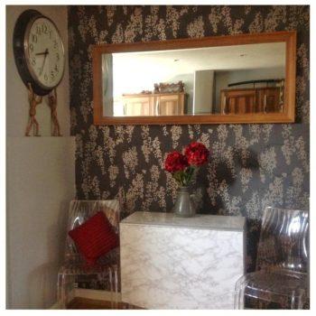 Grey Dining Room Idea