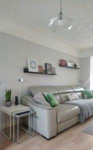 Contemporary Tropical Living Room