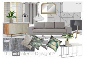 Living Room Designs Grey