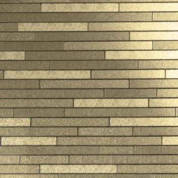 Gold foil tile wallpaper