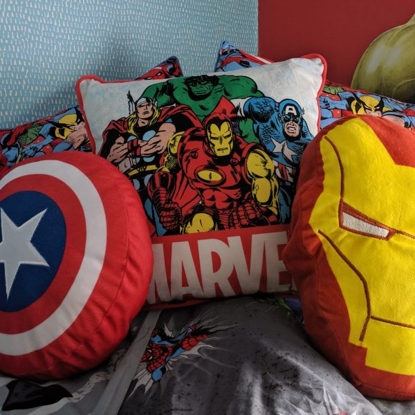 Marvel Avengers Superhero Bedroom