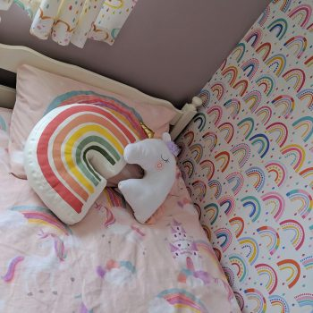 Rainbow and Unicorn Bedroom