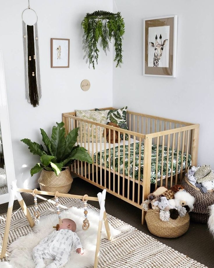 Tropical Baby Room