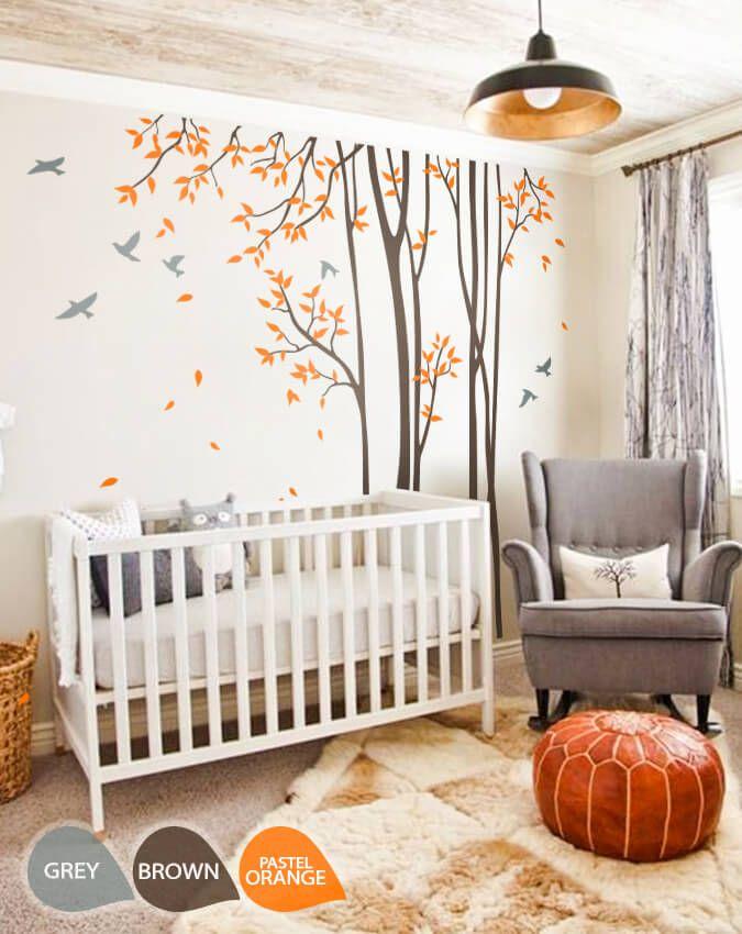 Woodland Baby Room