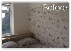 Online Interior Design Kids Bedroom - before