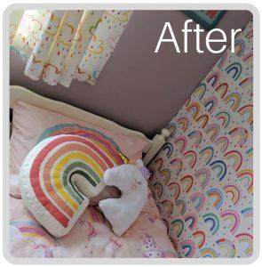 Online Interior Design girls bedroom - after